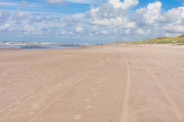 Strand at the North Sea