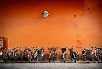 Bicycles park