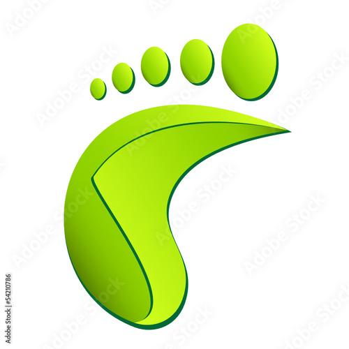 Fußpflege, Fußabdruck