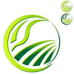 Landwirtschaft - Öko-Zeichen