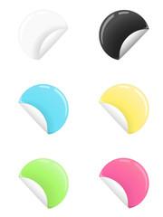Farbige Sticker/ Soft