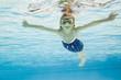 Mädchen Unterwasser