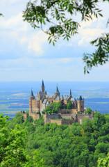 Burg Hohenzollern, Schwäbische Alb, Deutschland