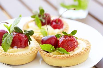 Fresh Berry Tarts