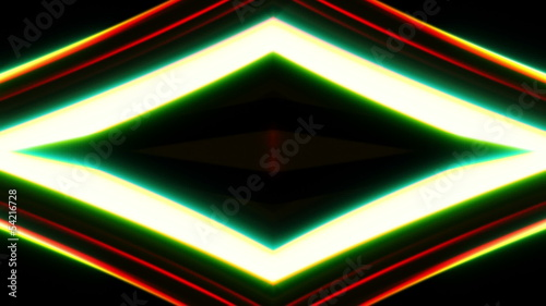 Abstract lines and light, futuristic digital background, HD