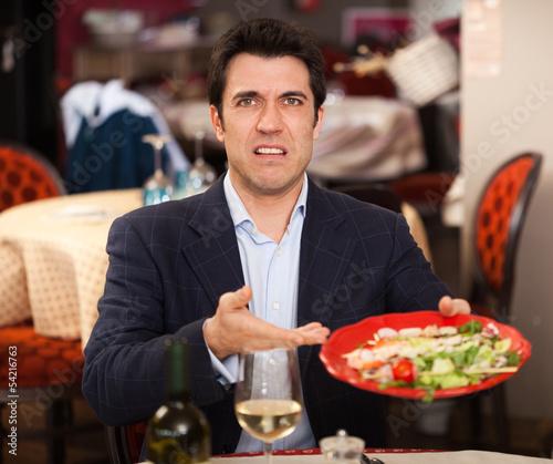 Leinwanddruck Bild Bad food