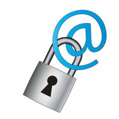 Verschlüsselung Email Illustration