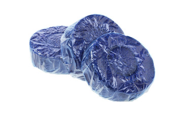 Blue Toilet Cleaner Tablets
