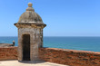 Turret at Castillo San Cristobal in San Juan, Puerto Rico.