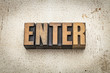 enter word in wood type