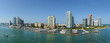 Panoramic Aerial View of South Miami Beach