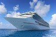 Passenger Cruise Ship at Sea