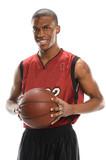 Fototapeta Basketball Payer Holding Ball