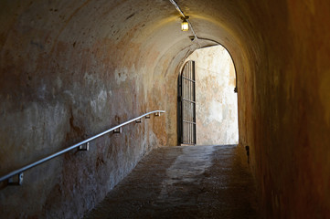 Tunnel Exit in Sam Cristobal Fort