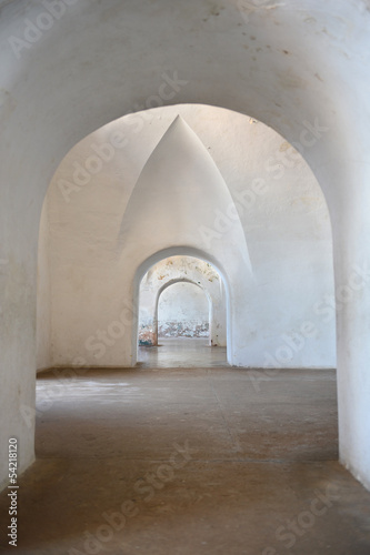 Archways in Castillo San Cristobal