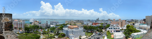 Papiers peints Amérique Centrale Panoramic View of San Juan Puerto Rico