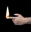 Human lighter