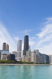 Chicago lakeshore poster