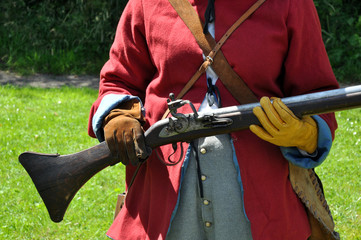 English Civil War Flintlock Musket