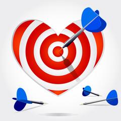 target heart