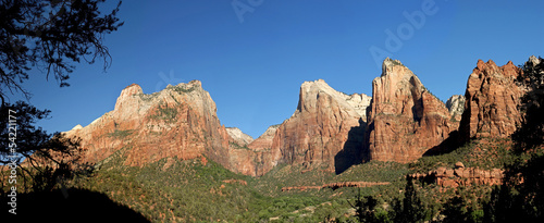 Court of the Patriarchs - Zion Nationalpark