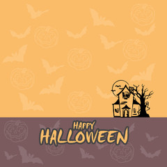 Happy Halloween design and concept