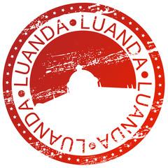 Stamp - Luanda, Angola