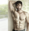 Hot guy with abs