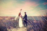 Bridal Couple in the Dunes