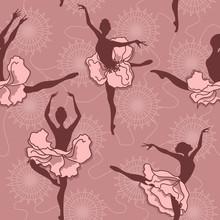 Jednolite wzór z baletu