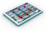 sound mixer for audio recording