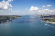 Aerial Bosphorus Bridge