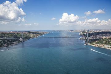 Aerial Bosphorus Bridge
