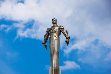Yuri Gagarin monument in Moscow
