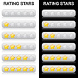Rating Stars - 0 bis 5