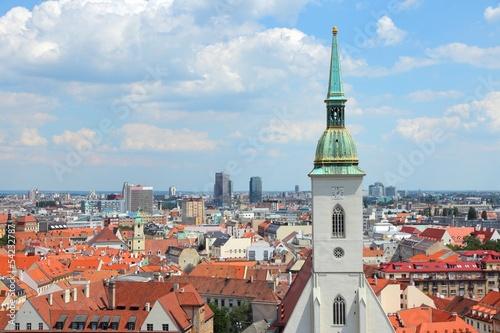 Bratislava, Slovakia - capital city skyline