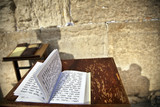Book of Psalms at the Wailing Wall