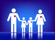 Family with heart