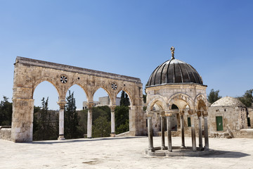 Temple Mount Entrance