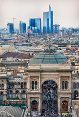Centro di Milano dall'alto