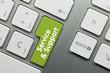 Service & Support Keyboard key