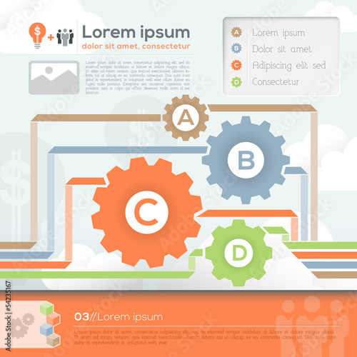 Business Design Template Layout