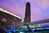 Tate Modern and the Millennium Bridge - 54235570