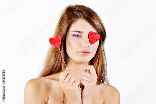 teen girl in love