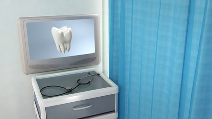 bad tooth to white tooth medical screen