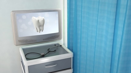 health tooth flare medical screen