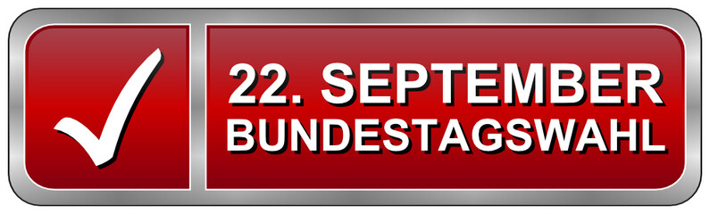 22. September: Bundestagswahl