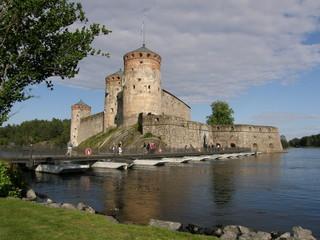 Savonlinna (Olavinlinna) castle, Finland
