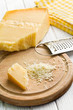 grated italian hard cheese