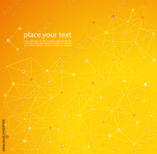 Molecule And Communication Background